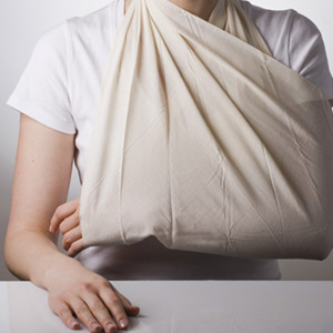 dislocated shoulder
